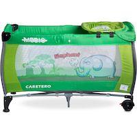 270x270-Манеж-кровать CARETERO Medio Classic (зеленый)