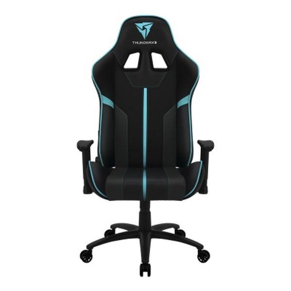 Кресло компьютерное THUNDERX3 BC3 Classic Black-Cyan AIR