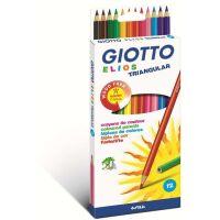 270x270-Карандаши FILA GIOTTO ELIOS TRI, 12 цв., арт. 275800