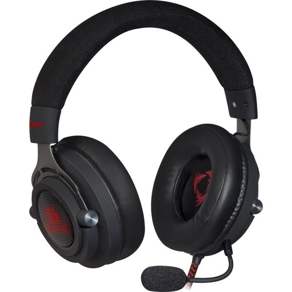 Наушники с микрофоном REDRAGON Aspis Black-Red