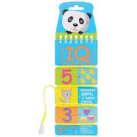 """Игра настольная для детей """"Игры со шнурком. Запоминаем цифры и учимся считать"""" (Айрис-пресс) арт. 978-5-8112-6313-4"""