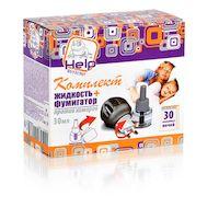 Комплект от комаров HELP BS80502 (фумигатор и жидкость 30 ночей)