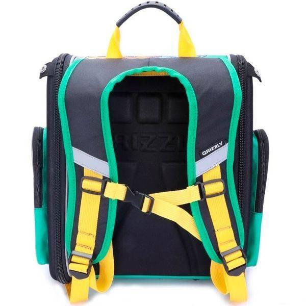 Рюкзак Grizzly RA-970-6 (зеленый/черный)