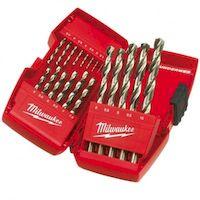 270x270-Набор сверл по металлу MILWAUKEE Thunderweb HSS-G DIN338 19 шт (4932352374)