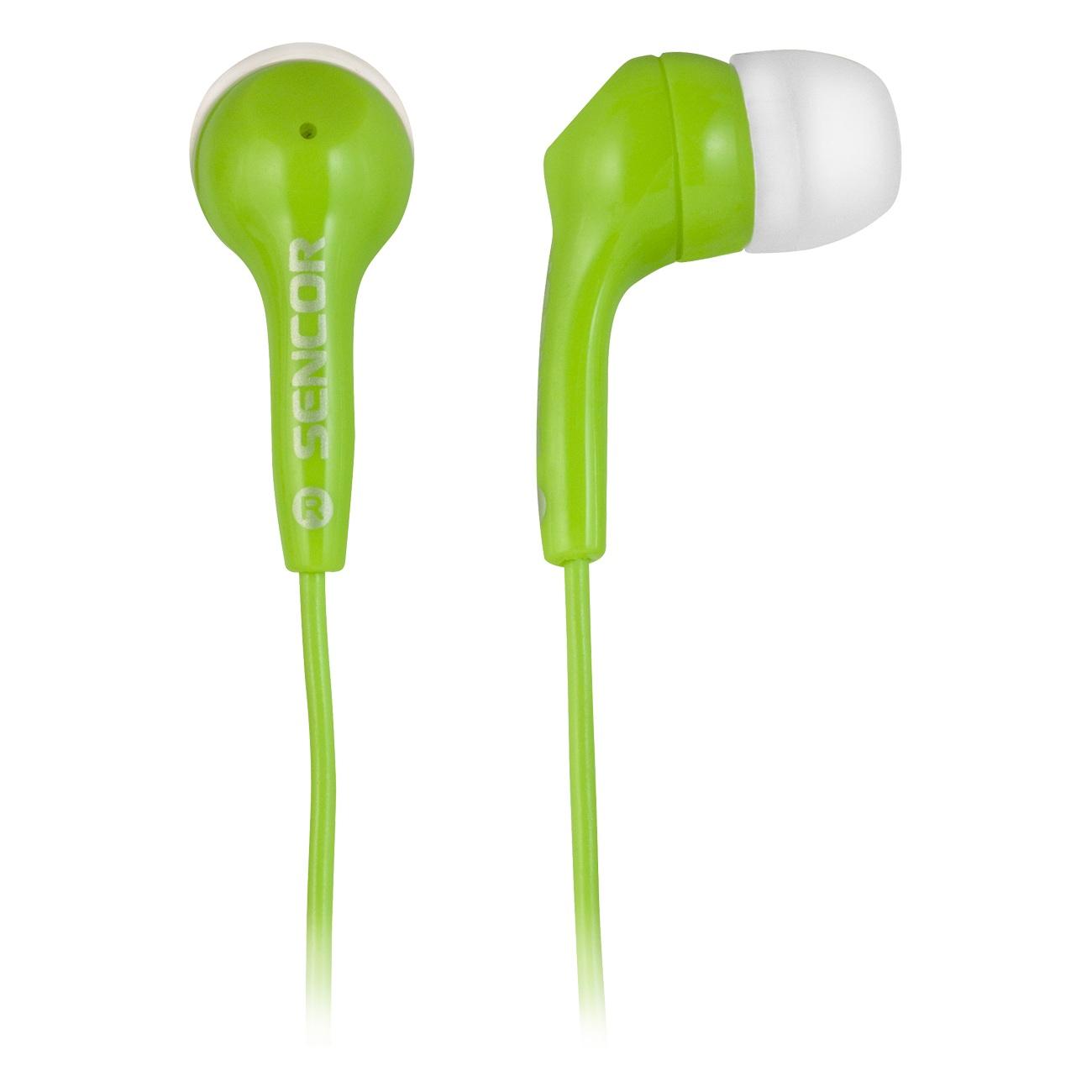 Наушники Sencor SEP 120 (зеленый)