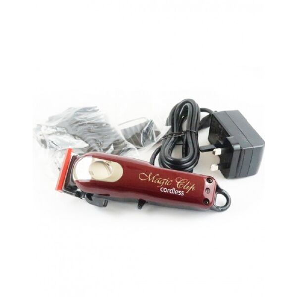 Машинка для стрижки Wahl Hair clipper Magic Clip Cordless 5star (8148-316H) красный