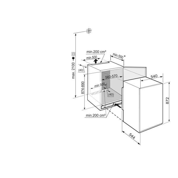 Морозильник встраиваемый Liebherr IGS1624-20 001