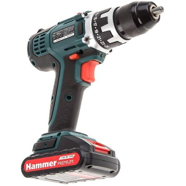 Дрель-шуруповерт аккуммуляторная HAMMER ACD183Li 2.0 Premium 545449