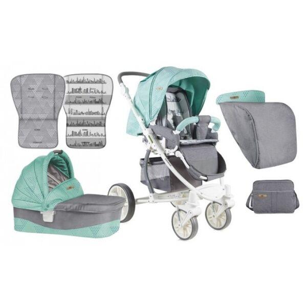 Детская коляска Lorelli Savana 2 в 1 Green Grey (10021031748)