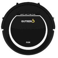 270x270-Робот-пылесос GUTREND FUN G120BW (черно/белый)