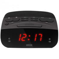 270x270-Часы-будильник MYSTERY MCR-23 red