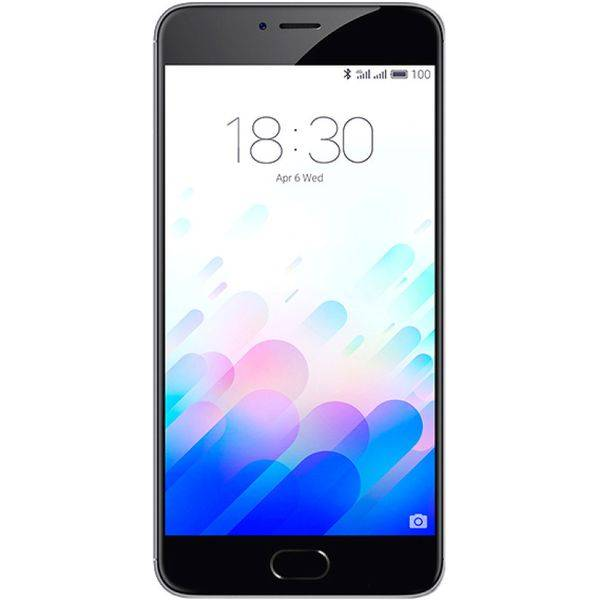 Смартфон Meizu M3 Note 16GB+2GB Gray/Black