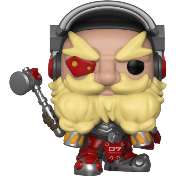 Фигурка Funko POP! Vinyl: Games: Overwatch S4: Torbjörn (32278)