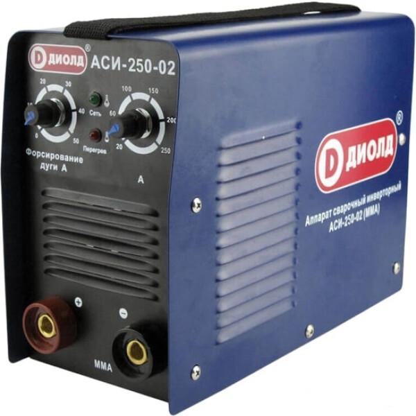 Сварочный инвертор ДИОЛД АСИ-250-02 (30012210)