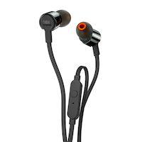 Наушники с микрофоном JBL T210 (черный)
