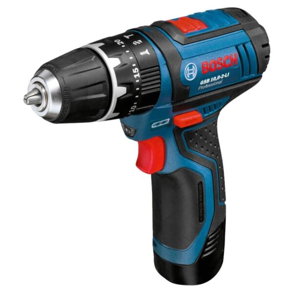 Дрель-шуруповерт Bosch GSR 10.8-2-LI Professional (0601868107) (с 2-мя АКБ)
