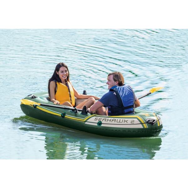 Надувная лодка Intex Seahawk 2 68347NP