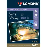 270x270-Фотобумага Lomond Полуглянцевая двусторонняя A4 265 г/кв.м. 20 листов (1106301)