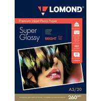 270x270-Фотобумага Lomond Суперглянцевая А3 260 г/кв.м. 20 листов (1103130)