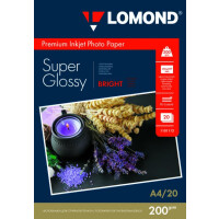270x270-Фотобумага Lomond Super Glossy Bright A4 200 г/кв.м 20 листов (1101112)