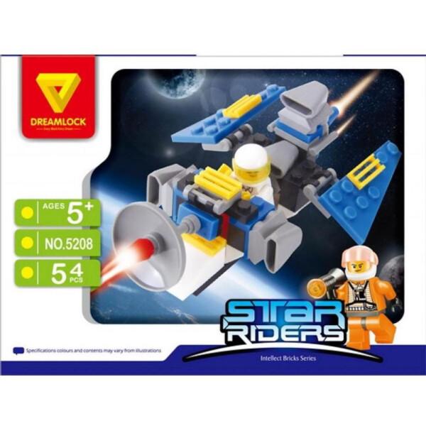 Конструктор DREAMLOCK Звездные всадники Космический истребитель 5208