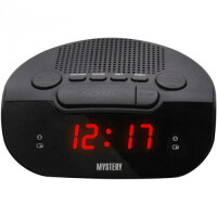 270x270-Часы-будильник MYSTERY MCR-21 red