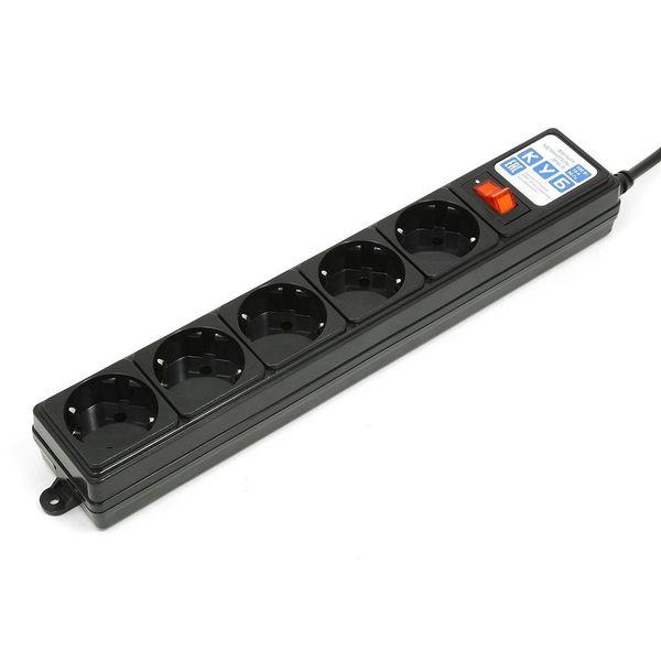 Сетевой фильтр POWERCUBE SPG-B-10-BLACK