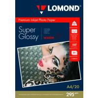 270x270-Фотобумага Lomond Суперглянцевая A4 295 г/кв.м. 20 листов (1108101)