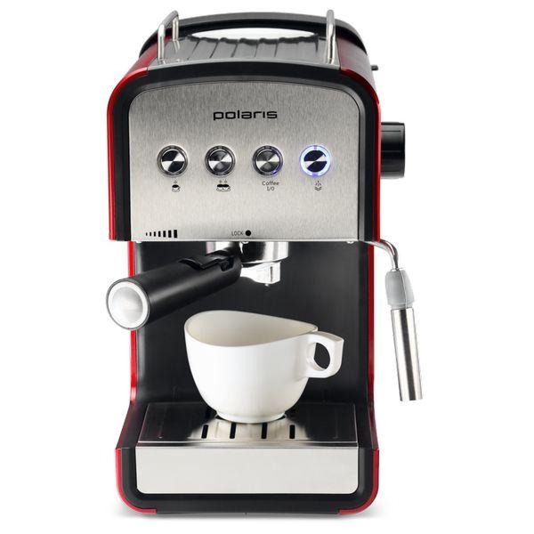 Кофеварка POLARIS PCM1516E Adore Crema (rosso)