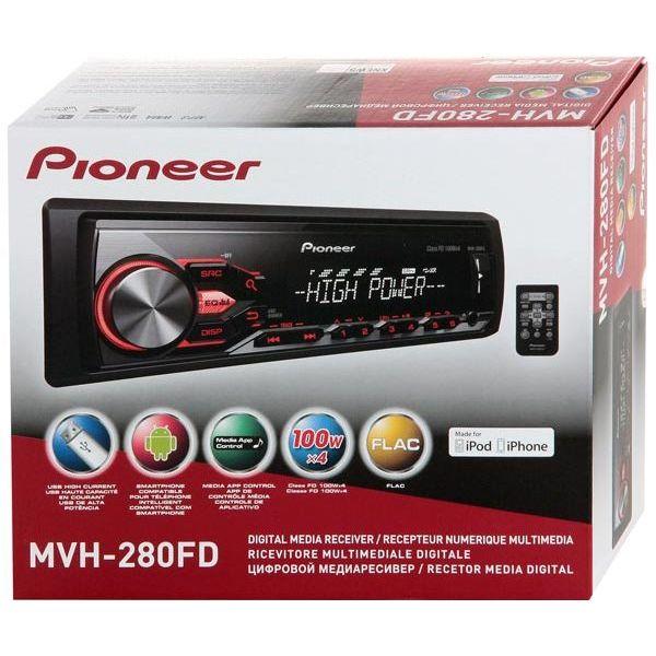 Автомобильный PIONEER MVH-280FD