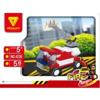 Конструктор DREAMLOCK Пожарные спасатели Пожарная машина 4226
