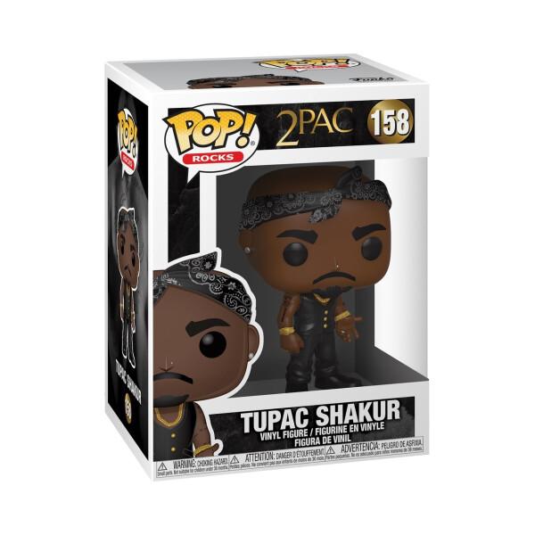 Фигурка Funko POP! Vinyl: Rocks: Tupac: Vest w/Bandana