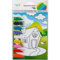 270x270-Набор для детского творчества GENIO KIDS-ART Картина из песка (TP1001)
