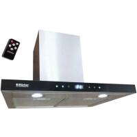 270x270-Воздухоочиститель для кухонь BACKER CH60E-TGL200 Inox Black Glass