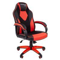 270x270-Кресло CHAIRMAN Game 17 (черный/красный)