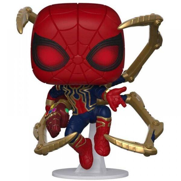 Фигурка Funko POP! Bobble: Marvel: Avengers Endgame: Iron Spider with NanoGauntlet (45138)