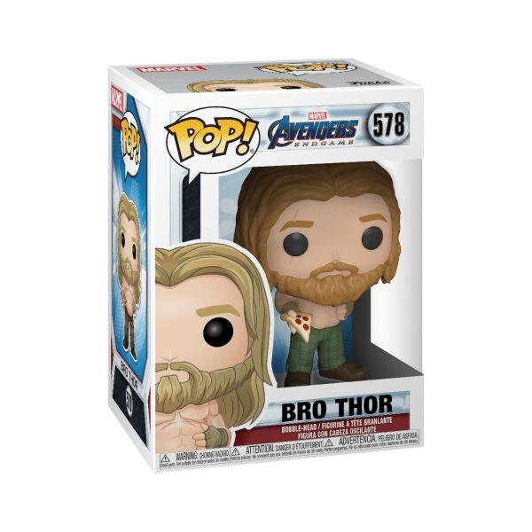 Фигурка Funko POP! Bobble: Marvel: Avengers Endgame: Thor with Pizza (45142)