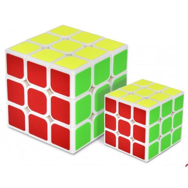 """Игрушка - головоломка ZOIZOI """"Куб 3х3"""" с наклейками + маленький"""