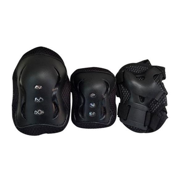 Защита для роллеров SPEED TE-114 (наколенники, налокотники, перчатки) размер М