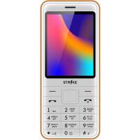 270x270-Телефон GSM STRIKE A30 (белый/оранжевый)