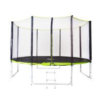 270x270-Батут T.M. Fitness Trampoline EG/13-4 Extreme (Green)