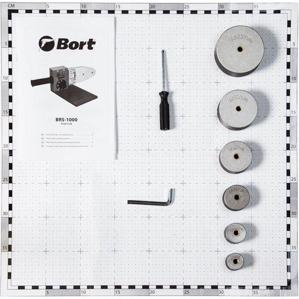 Аппарат для сварки труб Bort BRS-1000