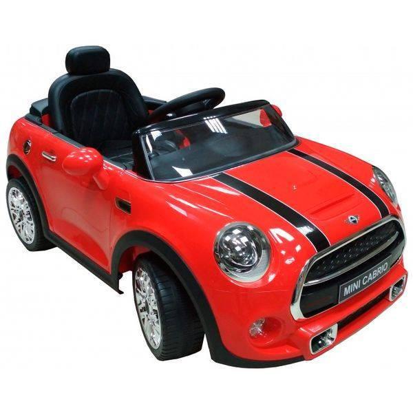 Электромобиль CHI LOK BO TOYS COMPANY Mini Cabrio F57 красный