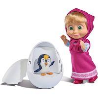 270x270-Кукла SIMBA Маша с пингвиненком в яйце (10 9301003)