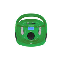 Магнитола TELEFUNKEN TF-SRP3471B (зеленый)