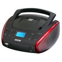 Портативная аудиосистема MYSTERY BM-6114U black/red