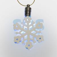 Елочная игрушка Neon-night Снежинка (501-097)