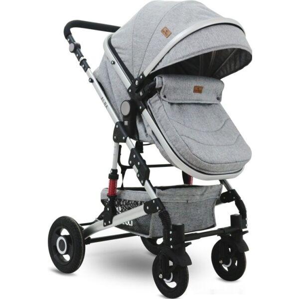 Детская коляска LORELLI Alba 2в1 (светло-серый)