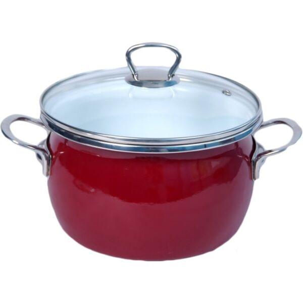Кастрюля Сантэкс 1-2440211 (бордовый)