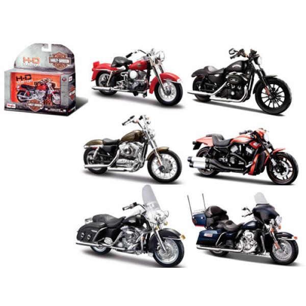 Модель мотоцикла MAISTO 1:18 - Харлей Дэвидсон серии 27-32 (31 360)